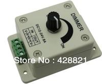 One Knob Lighting Brightness Dimmer Controller DC12-24V 8Ax1Channel