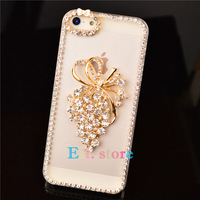 2013 new arrival grape bling back cover for iphone 5 5s 5C 4 4s case for samsung galaxy S4 S4 mini S3 note 2 3 grand duos i9082