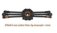 810mm Multicopter Carbon Fiber Frame for HEX6 Big Hexacopter FPV Aircraft T810