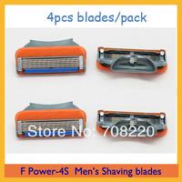 (4pcs/lot) Original Packaging Sharp Men's  Razor Blades FP-4 model --4pcs/pack Free Shipping