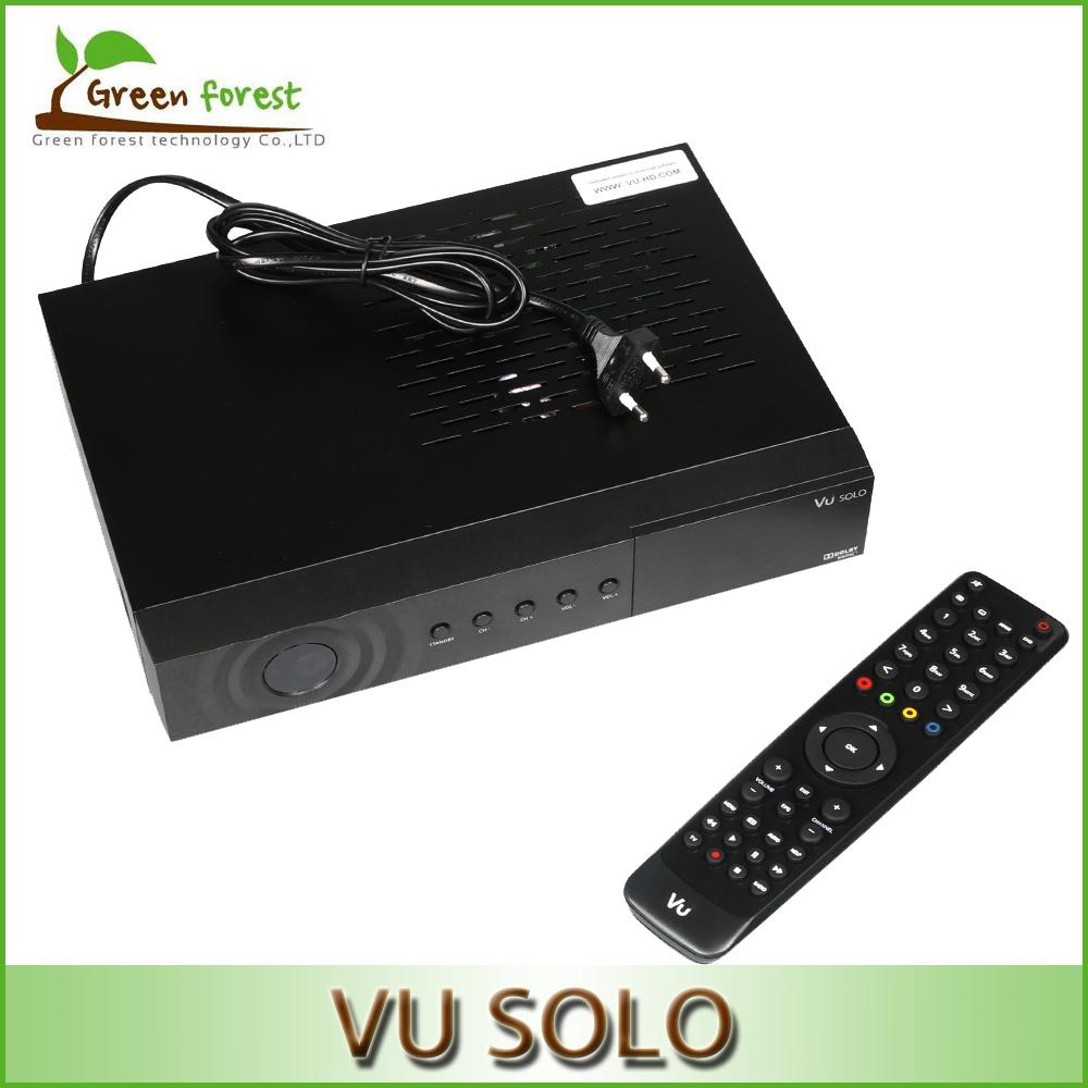Vu Solo Newest Version VU Solo PVR Linux smart tv receiver Digital DVB-S2 HD fta satellite receiver hd(China (Mainland))
