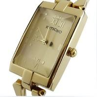 2013 New Kimio Gold Leather Belt  WomQuartz Watchesen Fashion Dress Watch 5 Colors Top Quality,birthday gift