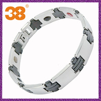 China Supplier 316L Stainless Steel Fashion Magnetic Bracelet Jewelry