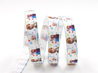 "Free shipping 3/8"" (9mm) Frozen Grosgrain ribbon printed The princess cartoon ribbon DIY Accessories 100 yards/roll XZD-1706"
