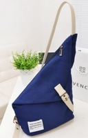 New Korean Fashion Style Unisex Recreational Canvas Messenger Bags Chest Bag Free Shipping WB024