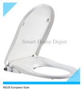 5pcs/lot One Piece Design Manual Bidet Seat, European Toilet Bidet with Dual Nozzles, Innovative Bidet, Green with No Electric