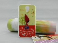 pearl hard case!plastic hard christmas gift cover case for samsung s4  I9500 with plastic pearl (5pcs/lot)