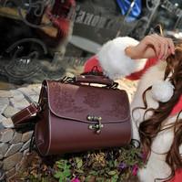 Mini women's handbag mushroom doctors bag vintage one shoulder jelly bag women's handbag messenger bag small bags