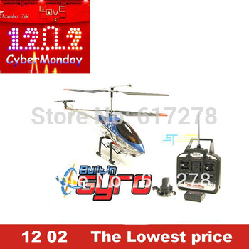 91cm Sky King 8501 rc helicopter Metal gyro 3.5ch remote control helicopter RTF with LED lights toy HCW 8501 HCW8 remote control