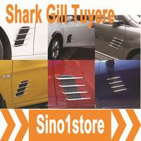Free Shipping, 10 pcs/lot Car Shark Gills Tuyeres for Car Modification