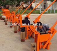 Interlocking brick making machine/manual clay brick machine