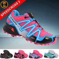 Free Shipping New Arrived Salomon SPEEDCROSS 3 Outdoor Sports Shoes Women Athletic Walking Shoes Womens Running shoes