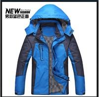 2014 free shipping autumn and winter men outdoor jacket mens jacket bosco sport casual men sportswear windbreaker and Waterproof