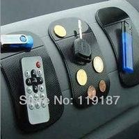 Free shipping Powerful Silica Gel Magic Sticky Pad Anti-Slip Non Slip Mat for Phone PDA mp3 mp4 Car Multicolor