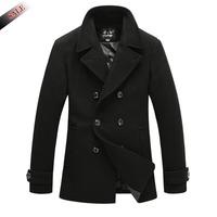2014 New Men's Winter and Autumn Peacoat Jackets Brand Stylish Outdoors Men Jacket Coats Mens Jacket Windbreaker Men Overcoat