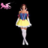 cosplay Halloween Snow white costumes, high quality sexy Halloween game cosplay princess costumes HBX008