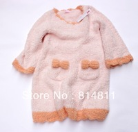 2013 HOT SALE Free Shipping Cute Style Winter Nightgown for Women Lovely Clothing for Women 3040