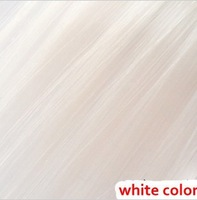 2013 hot sale !7# 20inch 13g Hair piece white  hair extention synthetic hair with free shipping (min order 10$)
