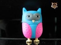 Novel lovely Owl USB Flash Pen Drive 1GB-32GB Free Shipping