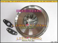 Turbocharger TURBO Cartridge CHRA CT16V 17201-OL040 17201-30110 For TOYOTA Land Cruiser HILUX D4D ViIGO3000 1KD-FTV 3.0L 173HP