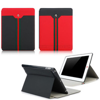 Newest Luxuy Horse Logo Smart Cover Leather Case for iPad Foldable Stand Skin Leather Case for ipad2 ipad 3 ipad 4 Free Shipping