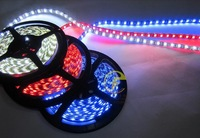 3528 non-Waterproof flexible led strip lightings Blue/red/white/warm white for kia Hyundai toyota and other car