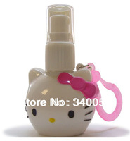 Hello kitty Refillable bottle 20ml Pressure Perfume Spray Bottles 12pcs/lot Free Shipping