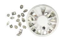 Big Size Crystal Acrylic Glitter Rhinestone for 3D UV Gel Nail Art False Diamonds