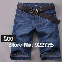 28-38#TS6168,New 2014 Fashion Italian Men's Brand Shorts Jeans Britches,Vintage Blue Breeches Perfume Denim Bermudas Shorts Men
