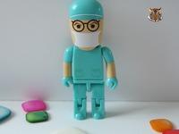 New cartoon doctor model usb flash drive 2.0 memory stcik pen drive/gift 1-32g