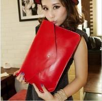 2013 vintage envelope motorcycle bag shoulder bag messenger bag handbag women's briefcase day clutch