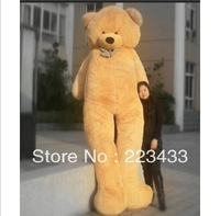 300cm Huge size teddy bear three colors skin/cloth/coat(Empty inside),birthday gift toys for girls,Christmas gifts Free Shipping