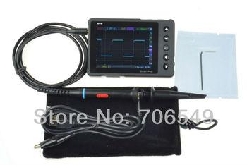 DS201 pro ( better than nano V3) / DIY oscilloscope kit  /  with 2 probes  / Built in 8M storage / aluminium alloy black case