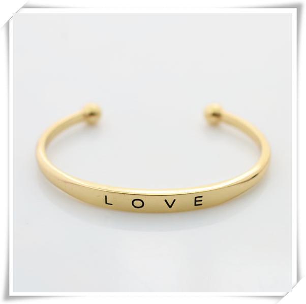 New Fashion jewelry love cuff bangle for women girl wholesale B864(China (Mainland))
