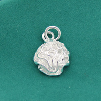 Free Shipping,Factory Directly Selling Sliver Plated Pendant Classic Rose Flower. SN129