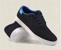 2013 new men's shoes black matte  British fashion casual shoes lace