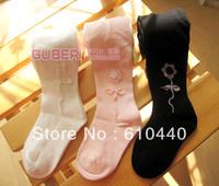 Wholesale and retail cute Ballerina girls leggings 5pcs/lot Cotton children baby stocking girls pantyhose 2 designs