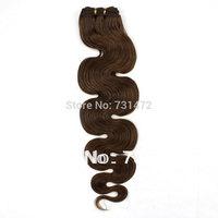 "12""-26"" #8 6A Quality   hair 100% Unprocessed Virgin Peruvian Human Hair Weft Body Wave no tangle no shedding Free Shipping"
