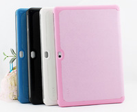 FreeShipping Magnetic Ultra Slim Leather Case Cover For Samsung Galaxy Tab 2 10.1 P5100 P5110 Case+1Stylus Pen+1Screen Protector