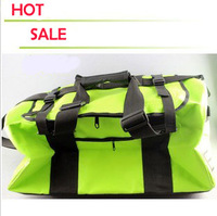 High quality 2013 fashion large package mens street luggage neon color waterproof messenger bag single shoulder bag