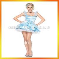 Free Shipping Storybook Babe Princess Cincerella Costumes AEWC-6744