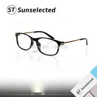 Free shipping Unisex New Women&Men's Vintage glasses Brand Designer Golden Details w/ Clear Lens for Optical Glasses Frames G126