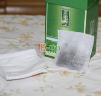 "Free Shipping! 1000pcs 2 .6""x3"" 65x75mm Non-woven Fabrics, Disposable Folding Teabags, for tea or flowers."