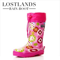 Free Shipping Shoes Girls New 2014 Fashion Quality Children Rain Boots Female Rubber Boots Girls Boots Rubber Boots
