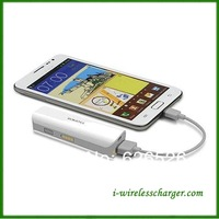 Free shipping 2600mAh High Hand Lamps Mobile Portable Power Bank for Smartphone For iphone 5s 5c 5