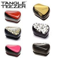 Wholesale Free Shipping New Tangle Teezer Hair Brush Hair Styling Comb 6 Styles Mixed Fashional Brushes 6 pcs/lot