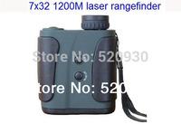 2014 NEWEST 1200M 7*32 outdoor laser rangefinder for golf/hunting, telescope Laser Distance Meter,Handheld outdoor range finder