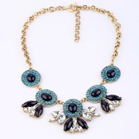 2013 New Vintage Statement Necklaces Women J C Necklace Chunky Necklace Fashion Jewelry Free Shipping