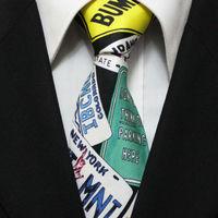 2014 New Arrival Novelty Silk Neckties Discount Cartoon Letter High Quality Ties For Men Gravatas Wide 10CM F10-D-3 Seda