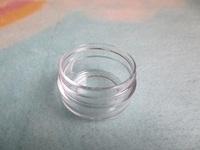 20g clear cosmetic jar , DIY cream box, empty plastic cans